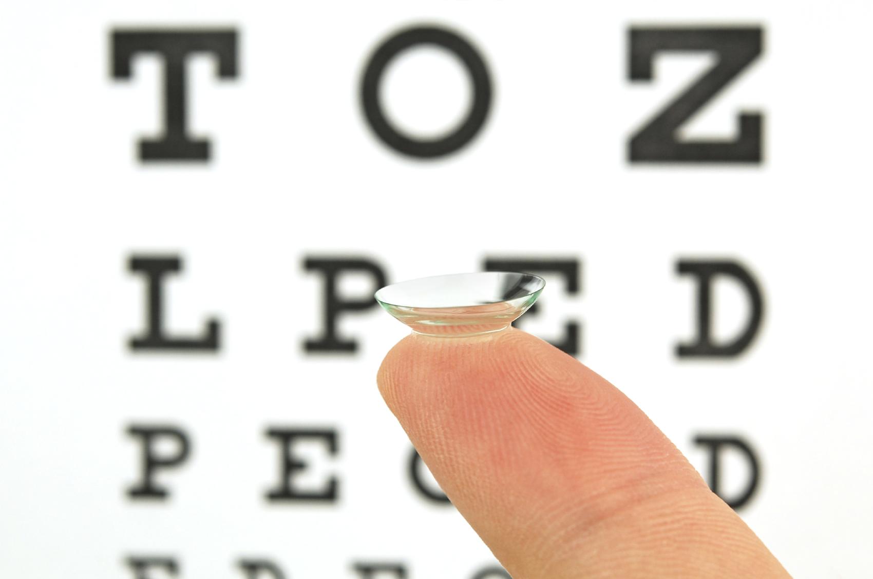 les lentilles de contact progressives